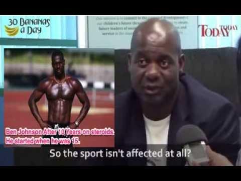 Ben Johnson - Steroids