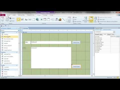 Use File Dialog, Attach Multiple Files to Multiple Recipients: MS Access