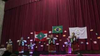 Grupo Zoriá no Cine Ópera - Festa das Etnias União dos Povos 2013
