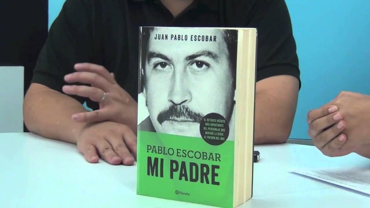 Libro Escrito Por El Hijo De Pablo Escobar Youtube