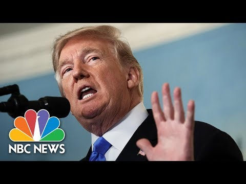 President Donald Trump Speaks At National Republican Congressional Committee Dinner | NBC News