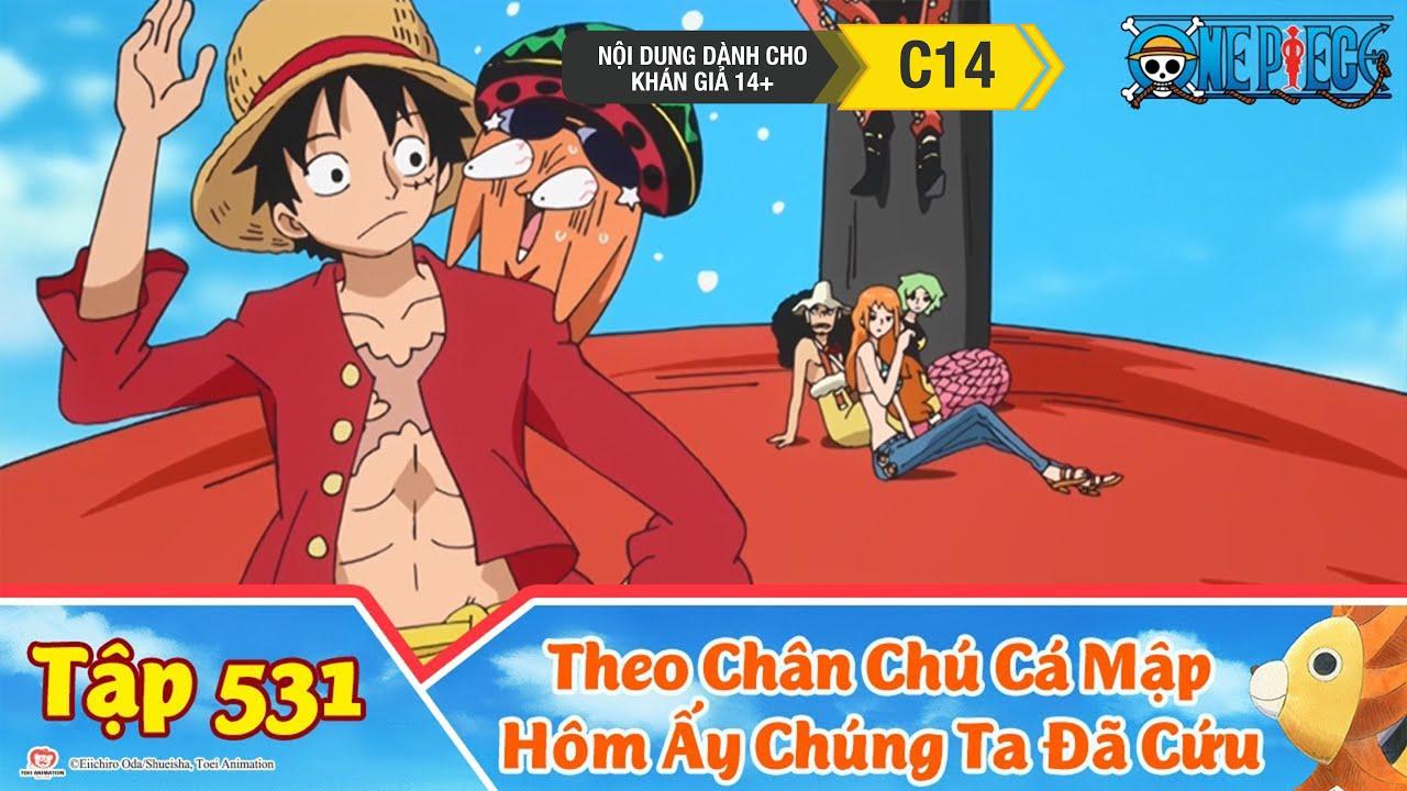 One Piece Best Cut Tập 531: Long Cung Thành. Theo Chân Chú Cá Mập Hôm Ấy Chúng Ta Đã Cứu