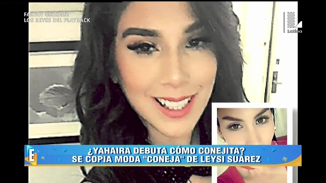 Al parecer Yahaira Plasencia también se sumo la moda de los dientes de conejo ESPECTÁCULOS CON JAZMÍN PINEDO 18/07/16 ESPECTÁCULOS 18/07/16 PROGRAMA