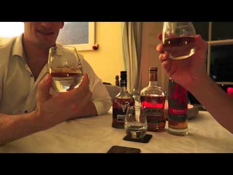 Whisky Tasting Christmas - Jura, Penderyn, Dalmore