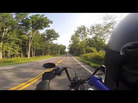 Harley Ride Through Western New York