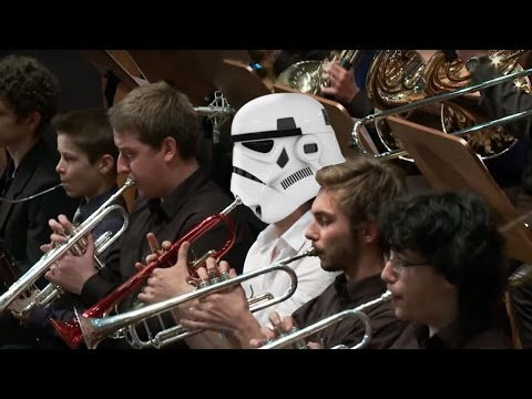 John Williams - Star Wars The Throne Room. The Force Awakens Tribute Performance. Звездные войны