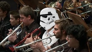 Williams - Star Wars स्टार वॉर्स The Throne Room スター・ウォーズシリーズ  conducted by Andrzej Kucybała
