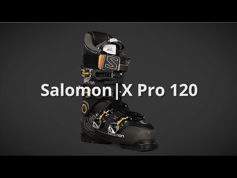 2018 Salomon X Pro 120 Mens Boot Overview by SkisDotCom
