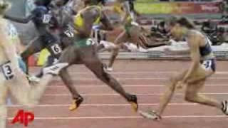 Lolo Jones hitting the 9th of 10 hurdles