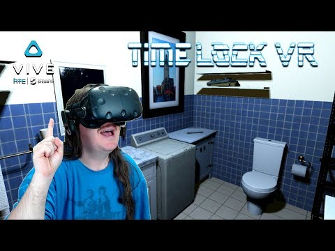 Bending Time To Steal A Vase | TimeLock VR | HTC Vive