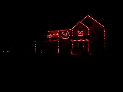 2014 Halloween Lights - Michael Jackson...