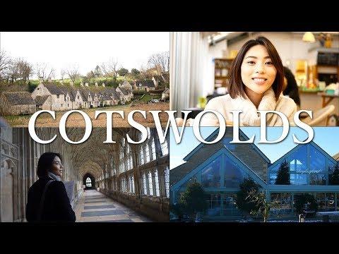 【Travel Vlog】Cotswolds~英国コッツウォルズ地方~イギリスの美しい田園風景 | HANAKO
