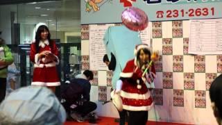 愛知県尾張旭市出身のお笑いタレント、青木さやかがゆるきゃらちょうせ...