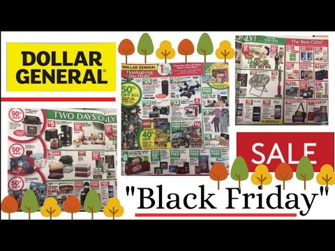 DOLLAR GENERAL #BLACKFRIDAY AD 2018