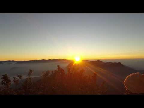 GoPro: HERO5 Sunrise from Adam's Peak (Sri Pada), Sri Lanka (time-lapse)