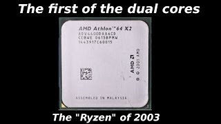 the first of the dual cores