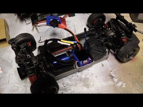 Traxxas Ford Mustang GT - Velineon VXL Conversion