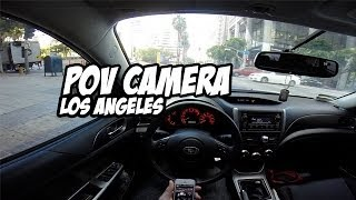 GoPro POV Through Los Angeles in Subaru WRX