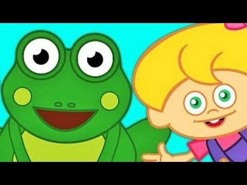 Küçük Kurbağa | Bebek Şarkıları |  | Çizgi Film Çocuk Şarkıları |