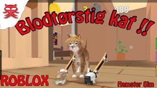 Blodt-rstig kat - Hamster Simulator med Wolf - Dansk Roblox