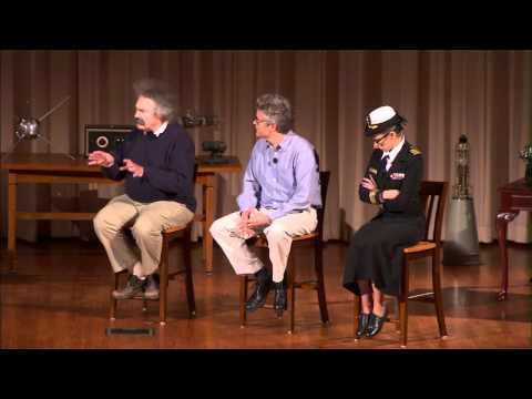 AT&T Chief Security Officer Ed Amoroso Interviews Grace Hopper, Albert Einstein, and Richard Feynman