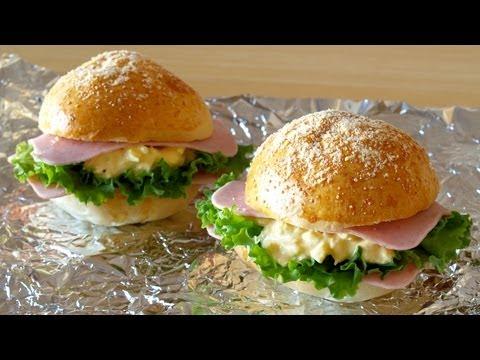 My Favorite Egg Mayonnaise Sandwiches (Recipe) 昔ドトールにあったハムタマゴサンドの作り方 (レシピ) - OCHIKERON