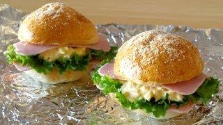 How To Make My Favorite Egg Mayonnaise Sandwiches (recipe) 昔ドトールにあったハムタマゴサンドの作り方 (レシピ)