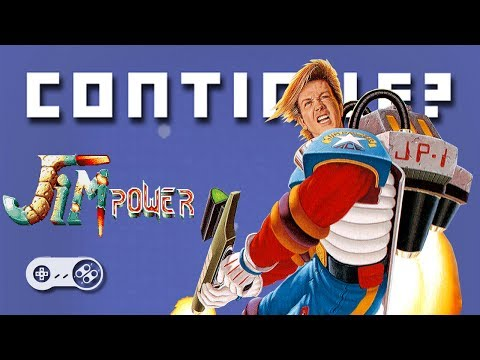 Jim Power (SNES) - Continue?