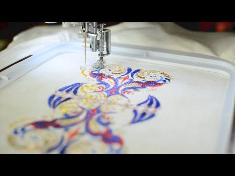 How to Embroider Metallic Thread on a Home Machine