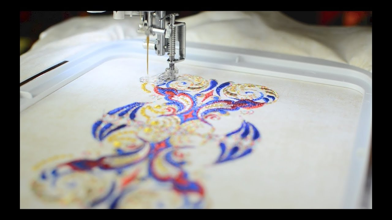 how to start embroidery thread