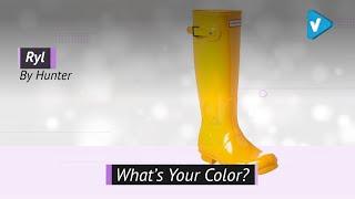 Hunter Womens Original Tall Gloss Rain Boots | Knee-High Boots 2019 Collection