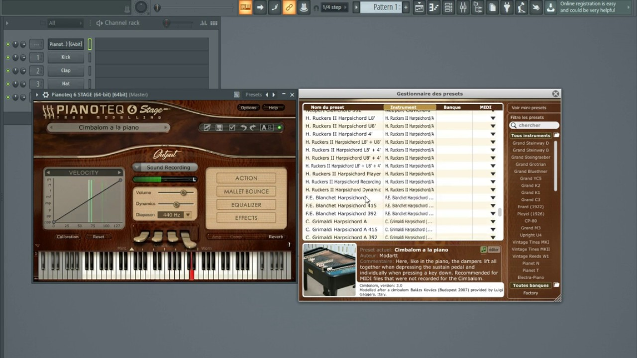Modartt Pianoteq 6 VST ( physically modelled pianos ) In Just 60 megabyte