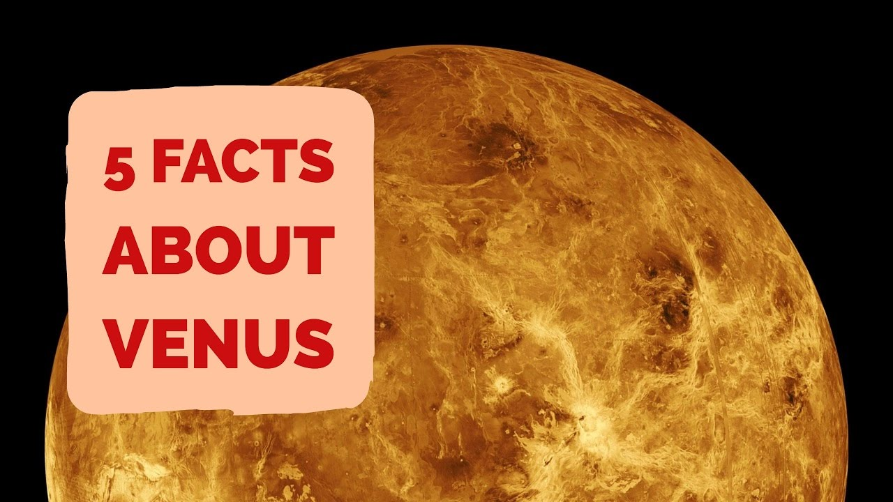 Facts About Venus | 5 Facts About The Planet Venus - YouTube
