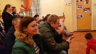 Відкритий Урок з танців 15.12.17 молодша група ДНЗ