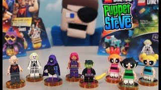 LEGO Dimensions Wave 9 PowerPuff Girls BeetleJuice Teen Titans Go Goonies PPG Unboxing