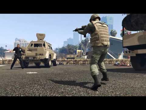 Zombie Defense 2(gta5 film)