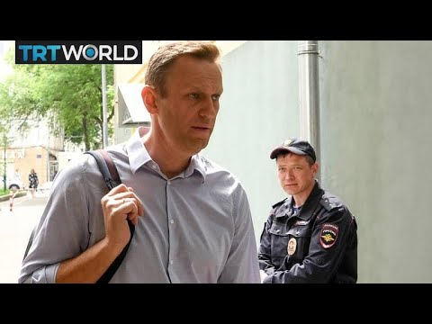 Russian Opposition Leader: Navalny back in jail after hospital stay