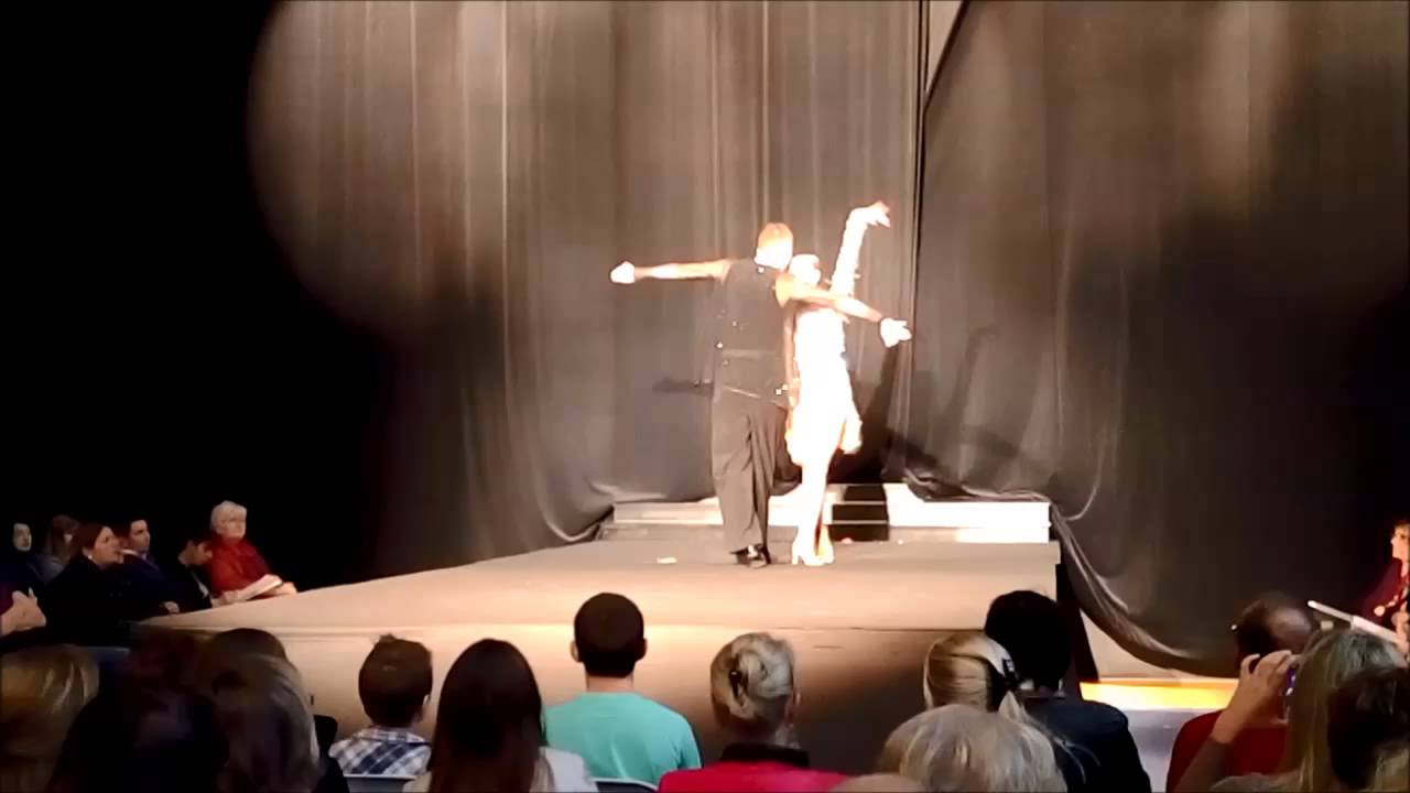 D monstration de danse salon du mariage bolbec 2014 youtube for Youtube danse de salon