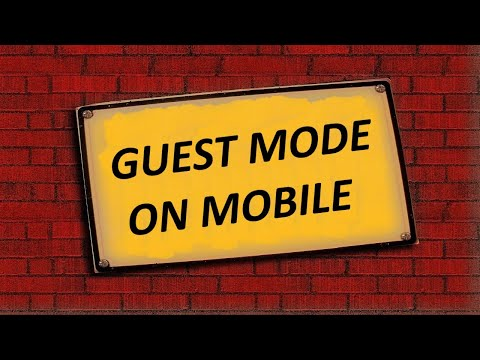 How To Enable Guest Mode In Android Mobile | 9 Tech Tips