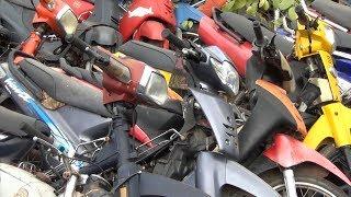 TP. Hồ Chí Minh gỡ vướng mắc trong xử lý xe máy vi phạm tồn kho