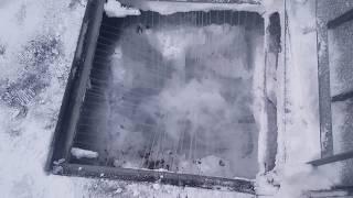 どんどん溶ける融雪槽!!