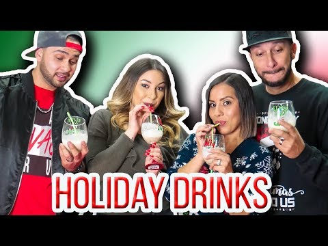 ODM - We Made Some Tasty Holiday Cocktails