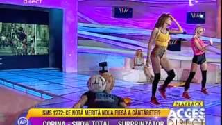 Corina - A ta  ( prezentare video) cu Stefan Florescu Acces Direct