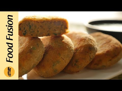 Fish Kebab with Green Chutney Recipe By Food Fusion
