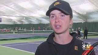 Tennis Star Elina Svitolina Announces New Children's Foundation In Dallas