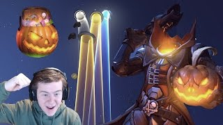 Overwatch: Unboxing 101 Halloween Loot Boxes!