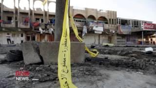 Dozens killed in bombings inside Baghdad mall