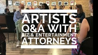 Q&A with Entertainment & Business Attorneys - Video