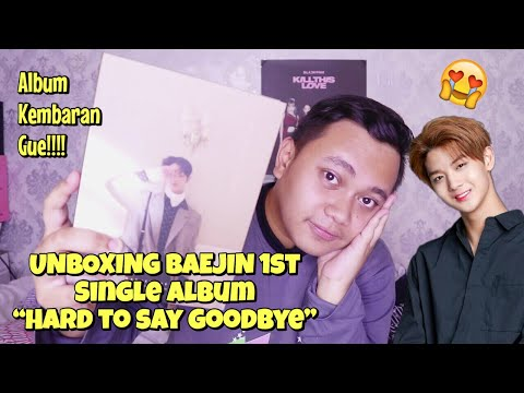 BAE JIN YOUNG 1ST SINGLE ALBUM HARD TO SAY GOODBYE UNBOXING [Bahasa Indonesia]