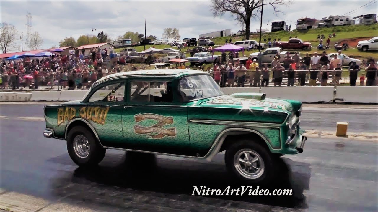 Southeast Gassers Association (SEGA) @ Shady Side Dragway Shelby, NC Heads  Up Drag Racing (NT) 2018